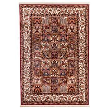 فرش ماشینی دنیای فرش کد 530R زمینه روناسی
