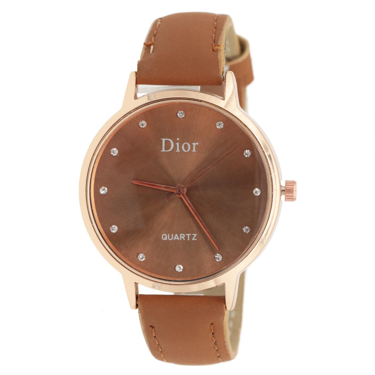 ساعت مچی عقربه ای زنانه دیور مدل DR1734