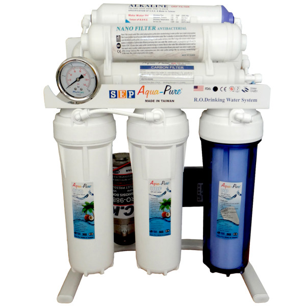 دستگاه تصفیه آب خانگی آکواپیور مدل RO-PURE8-2060