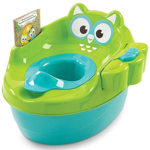 صندلی توالت موزیکال کودک سامر مدل Owl Potty
