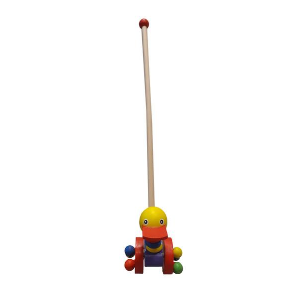 اسباب بازی راهبر چوبی مدل Duck