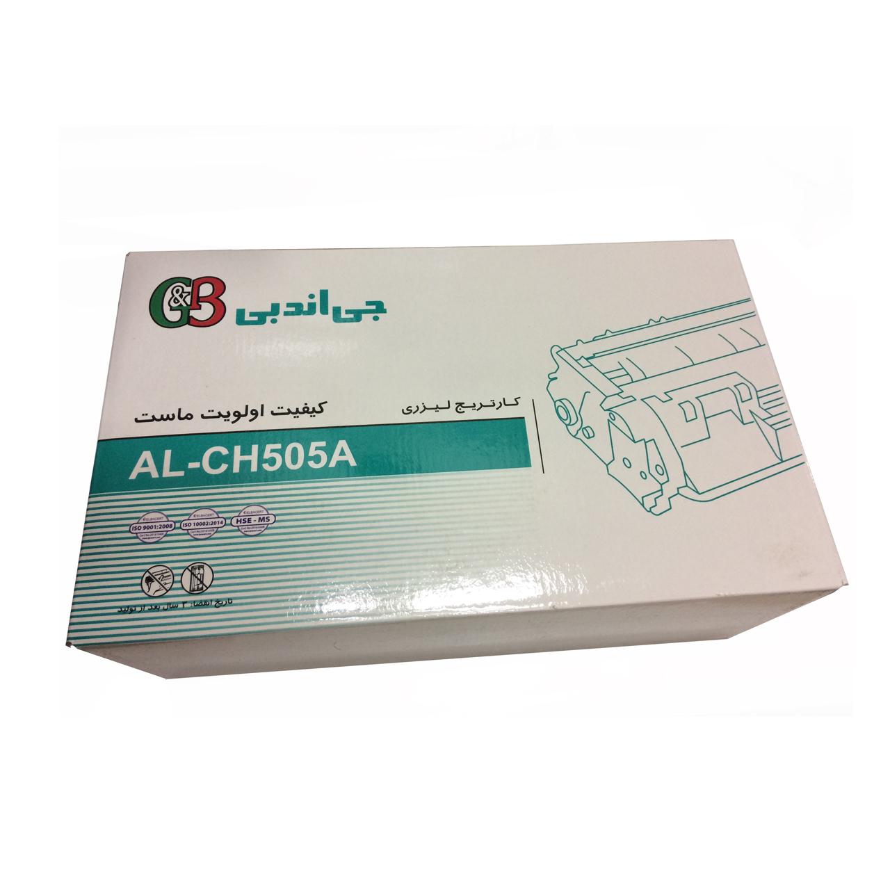 تونر مشکی جی اند بی مدل AL-CH5-05A