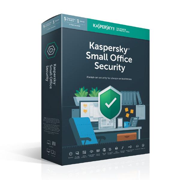 نرمافزار امنیتی کسپرسکی آنتی ویروس شرکتی Small Office 5+5+1 یک ساله