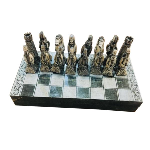 شطرنج سنگی دکوری