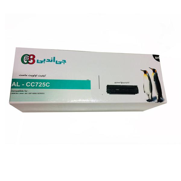 تونر مشکی جی اند بی مدل AL-CC725C