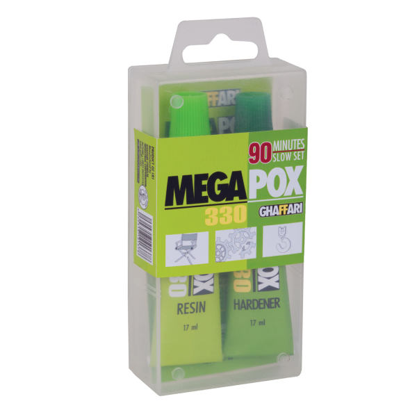 چسب مگاپوکس غفاری کد 330 بسته 2 عددی