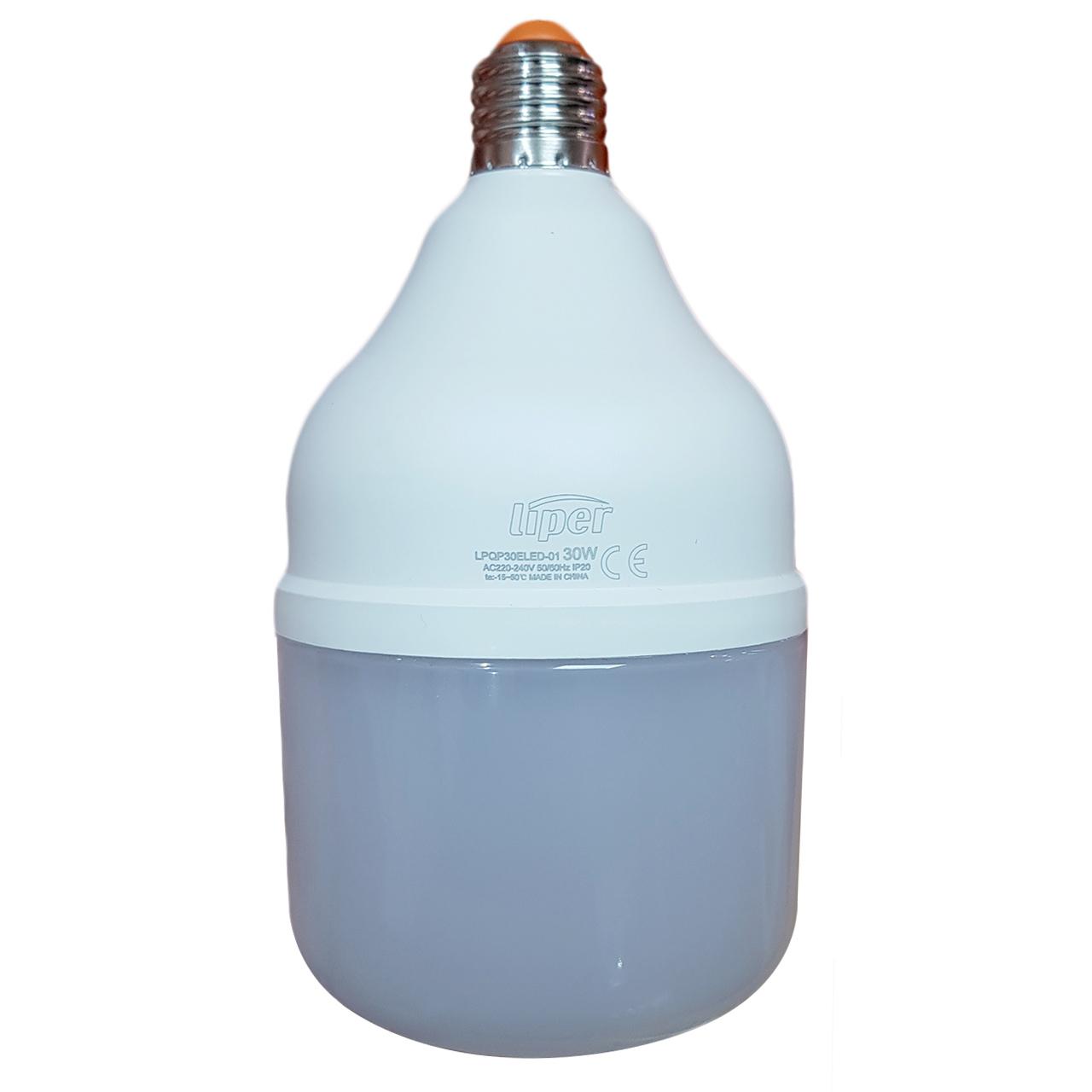لامپ ال ای دی 30 وات لیپر مدل LPQP15 پایه E27