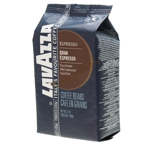بسته قهوه دان لاواتزا Gran Espresso مقدار 1000 گرم