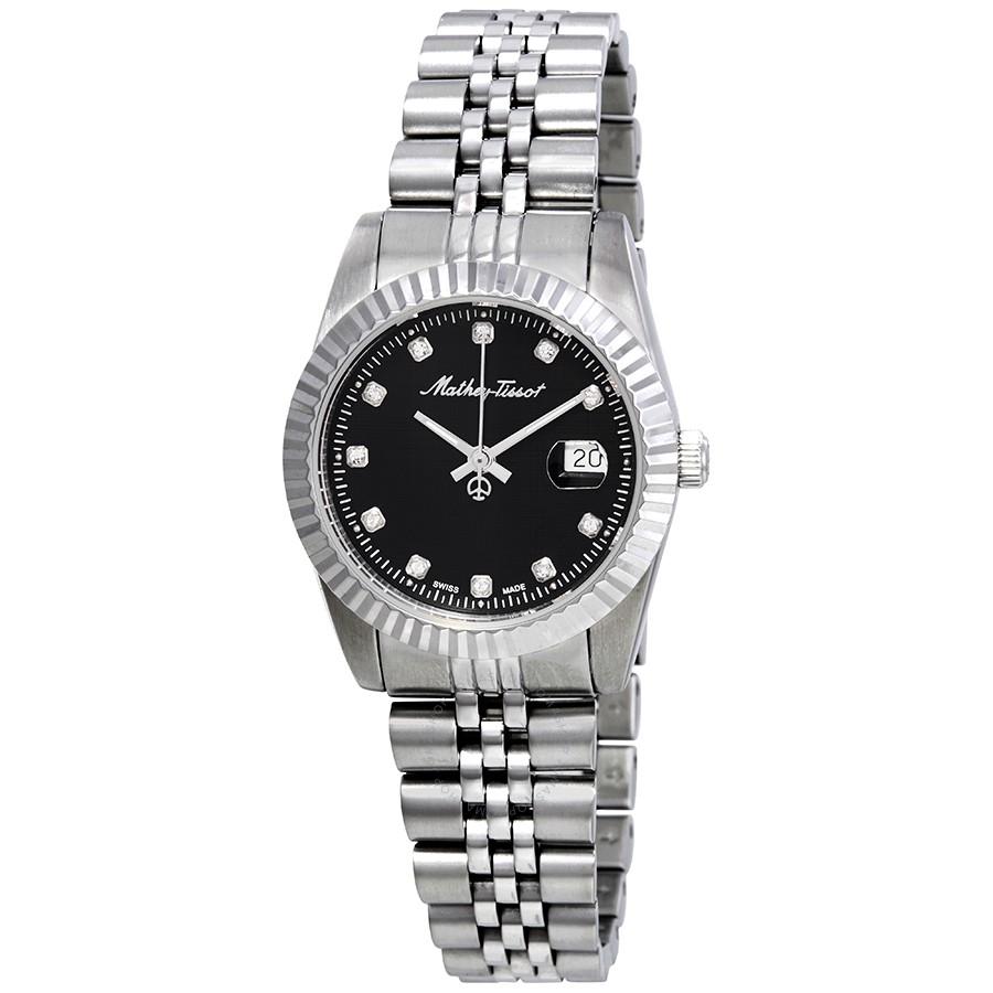 خرید ساعت مچی عقربه ای زنانه متی تیسوت D810AN