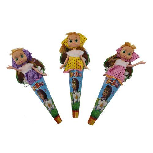 عروسک کیوت ماوا مدل Masha&Misha ارتفاع 20سانتی متر بسته 3 عددی