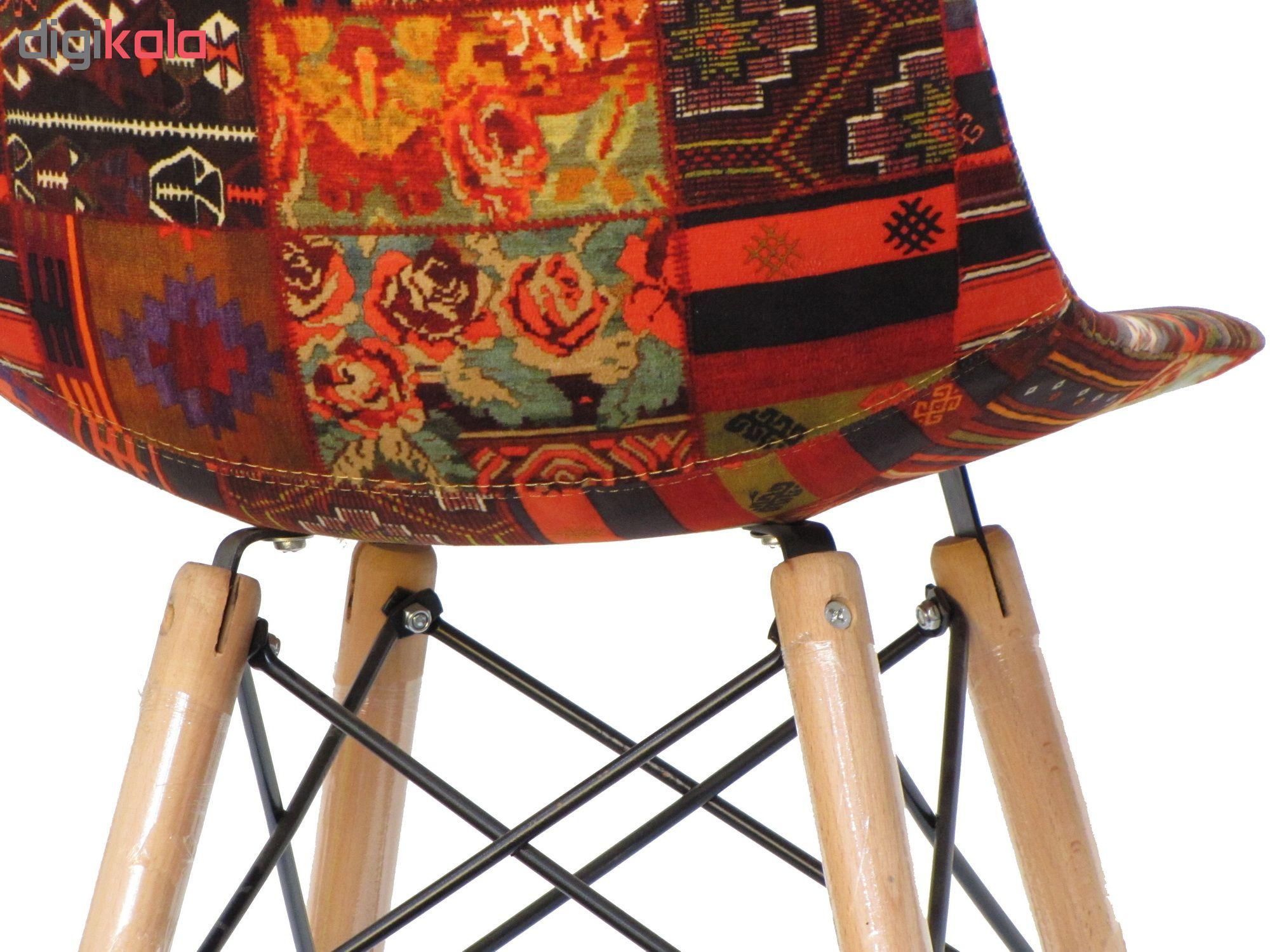 صندلی طرح گلیم مدل MP22