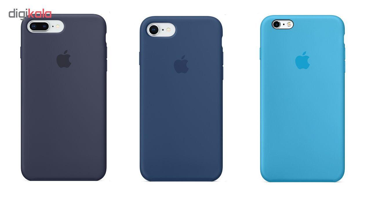 کاور سیلیکونی مدل SC مناسب برای گوشی موبایل اپل آیفون 7 / 8