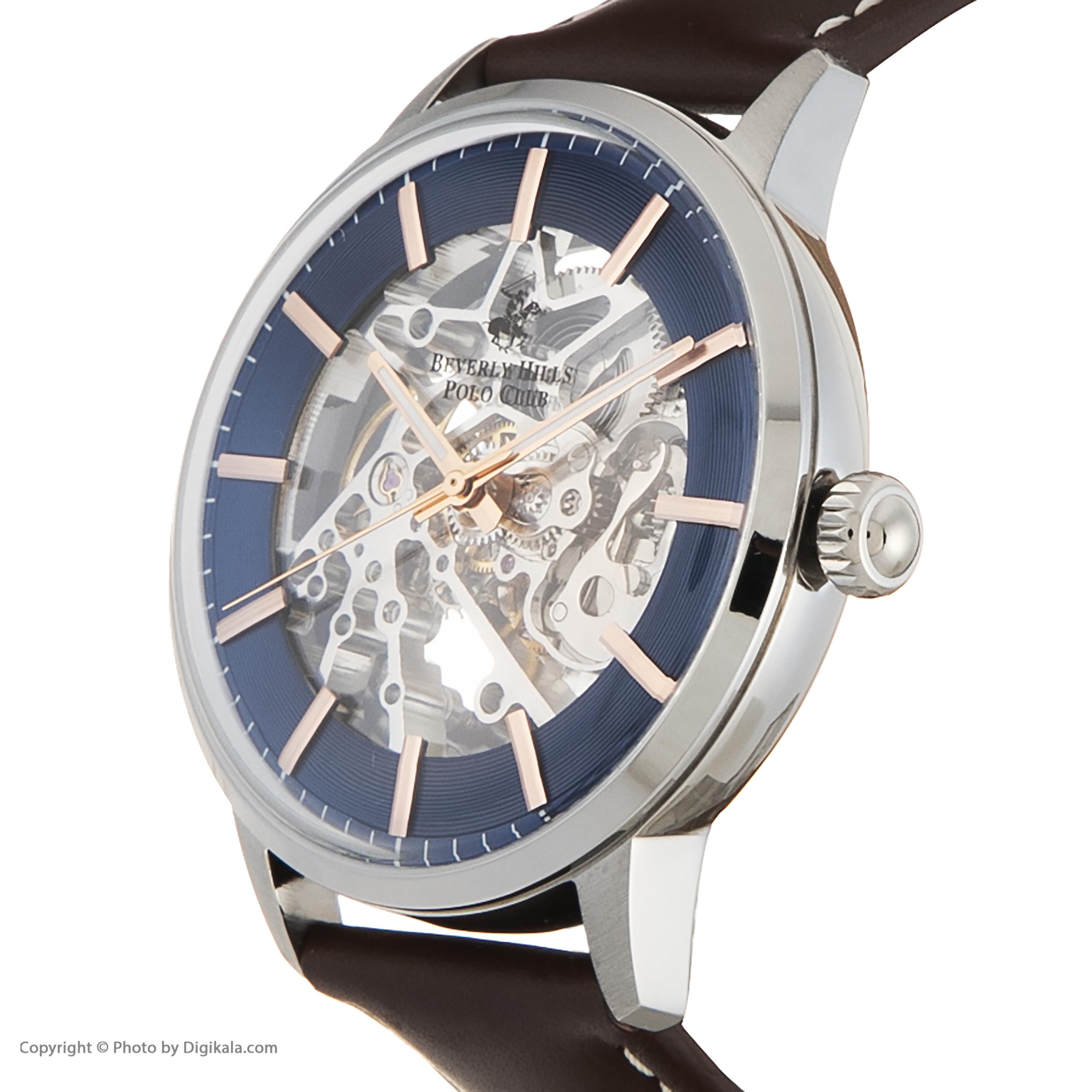 ساعت مچی عقربهای مردانه بورلی هیلز پولو کلاب مدل BP3054X.392