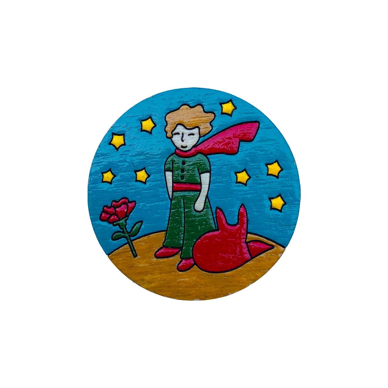 عکس پیکسل چوبی مدل شازده کوچولو