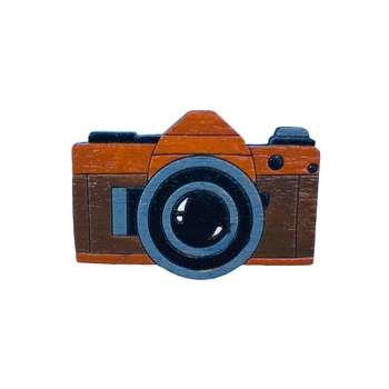 پیکسل چوبی مدل دوربین عکاسی