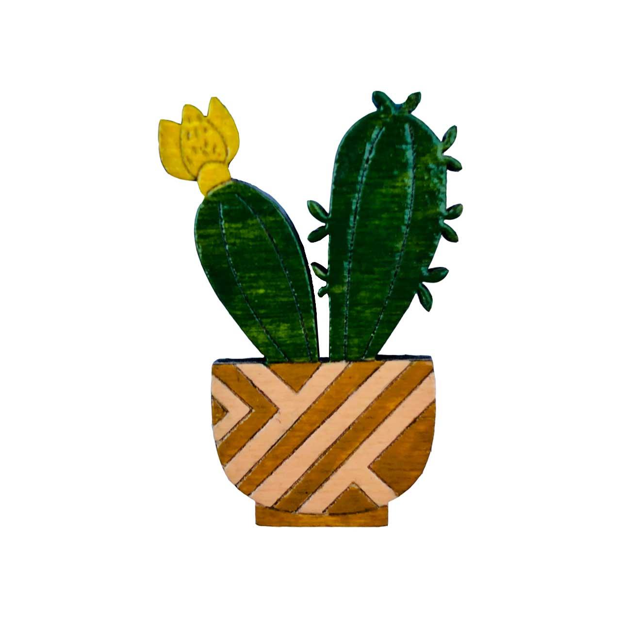 پیکسل چوبی مدل کاکتوس