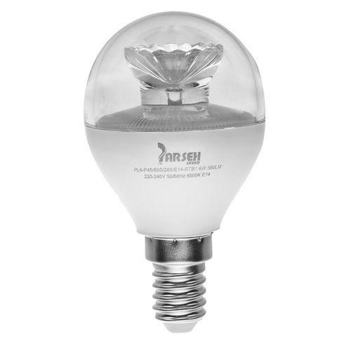 لامپ ال ای دی 6 وات پارسه شید مدل PL6-P45 پایه E14