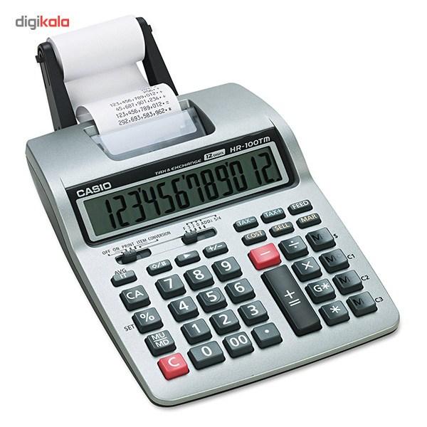 قیمت                      ماشین حساب کاسیو مدل HR-100-TM-Plus