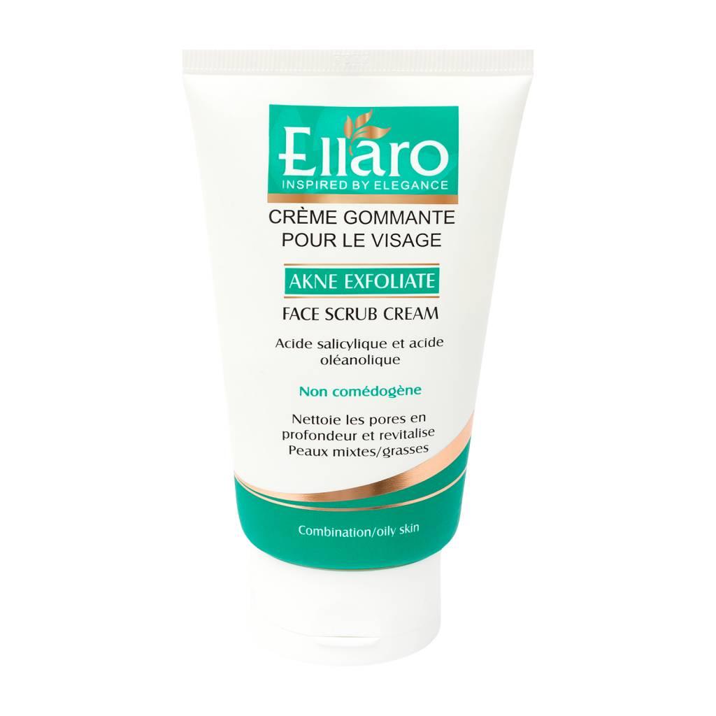 پاک کننده صورت الارو سری Akne Exfoliate مدل Face Scrub Cream حجم ۱۰۰ میلی لیتر