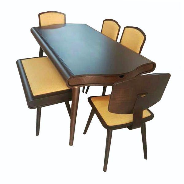 میز و صندلی ناهار خوری چوبی اسپرسان چوب کد  z03  
