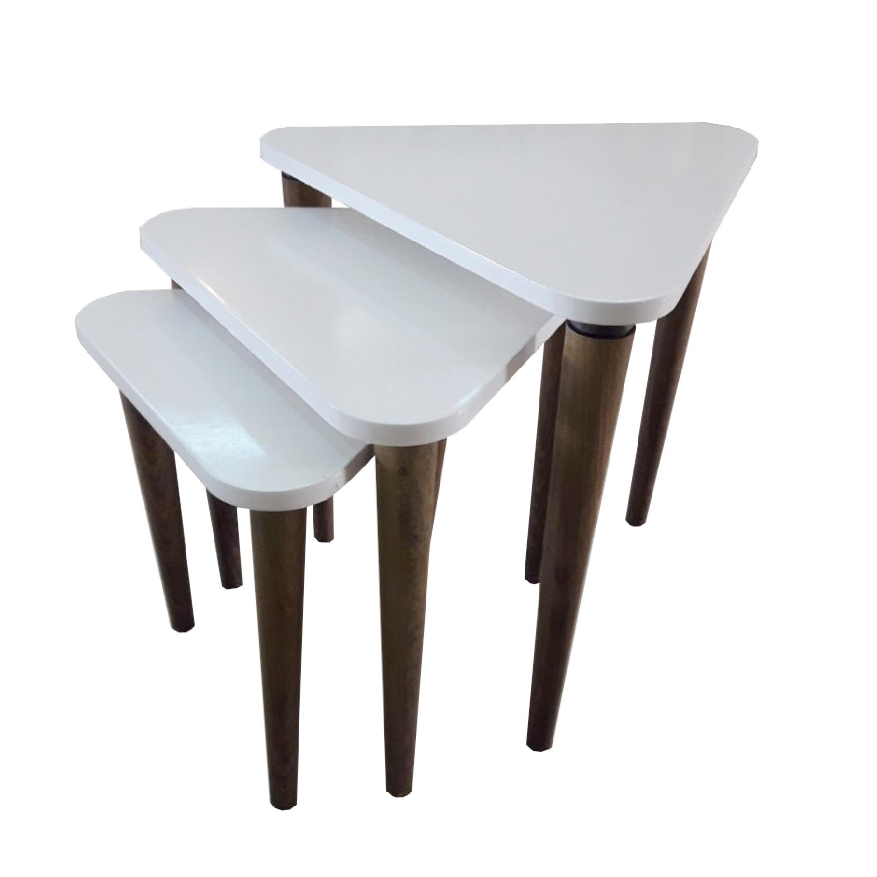 میز عسلی مدل مارال