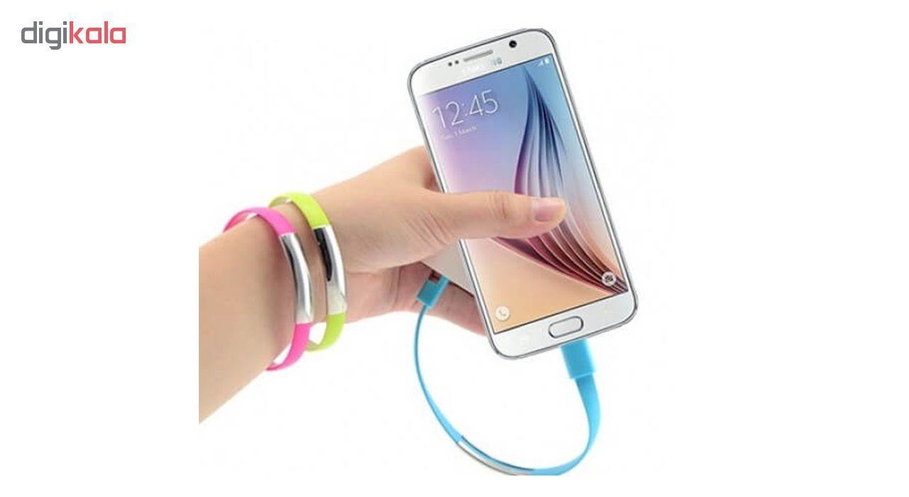 کابل تبدیل USB به microUSB اسکار مدل C-116 طول 0.2 متر main 1 4