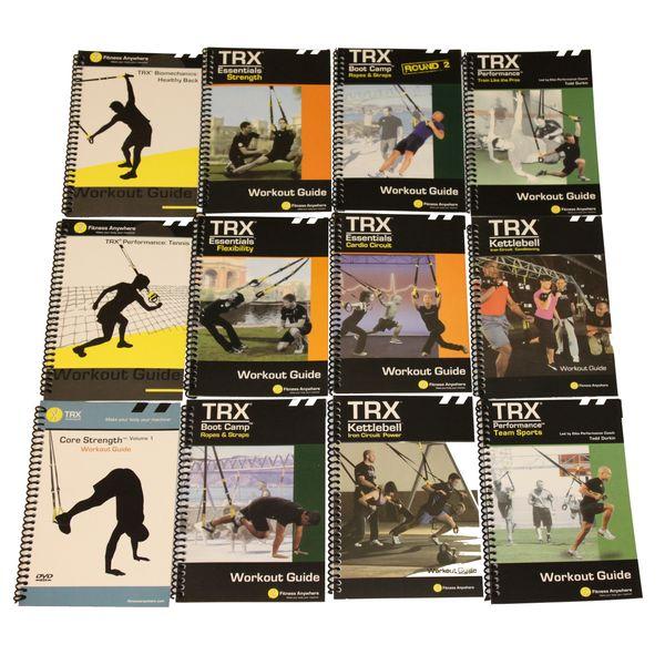 بسته اموزش حرکات تی ار ایکس مدل TRX Training   TRX-Training-DVD