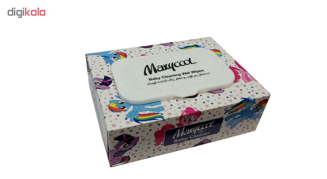 دستمال مرطوب کودک ماکسی کول مدل Body Cleaning بسته 40 عددی main 1 1