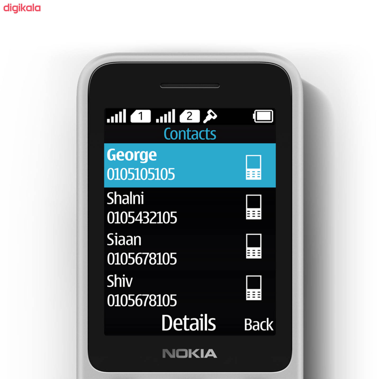 گوشی موبایل نوکیا مدل 125 TA 1253 DS دو سیم کارت main 1 4