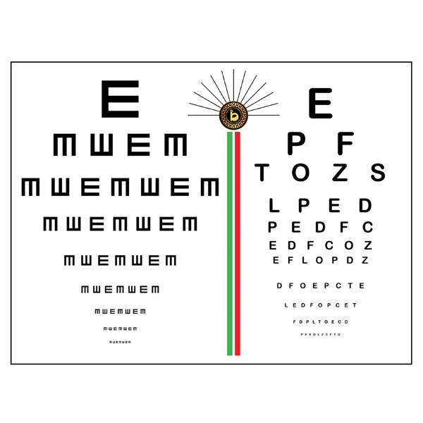پوستر بینایی سنجی کد TFP101