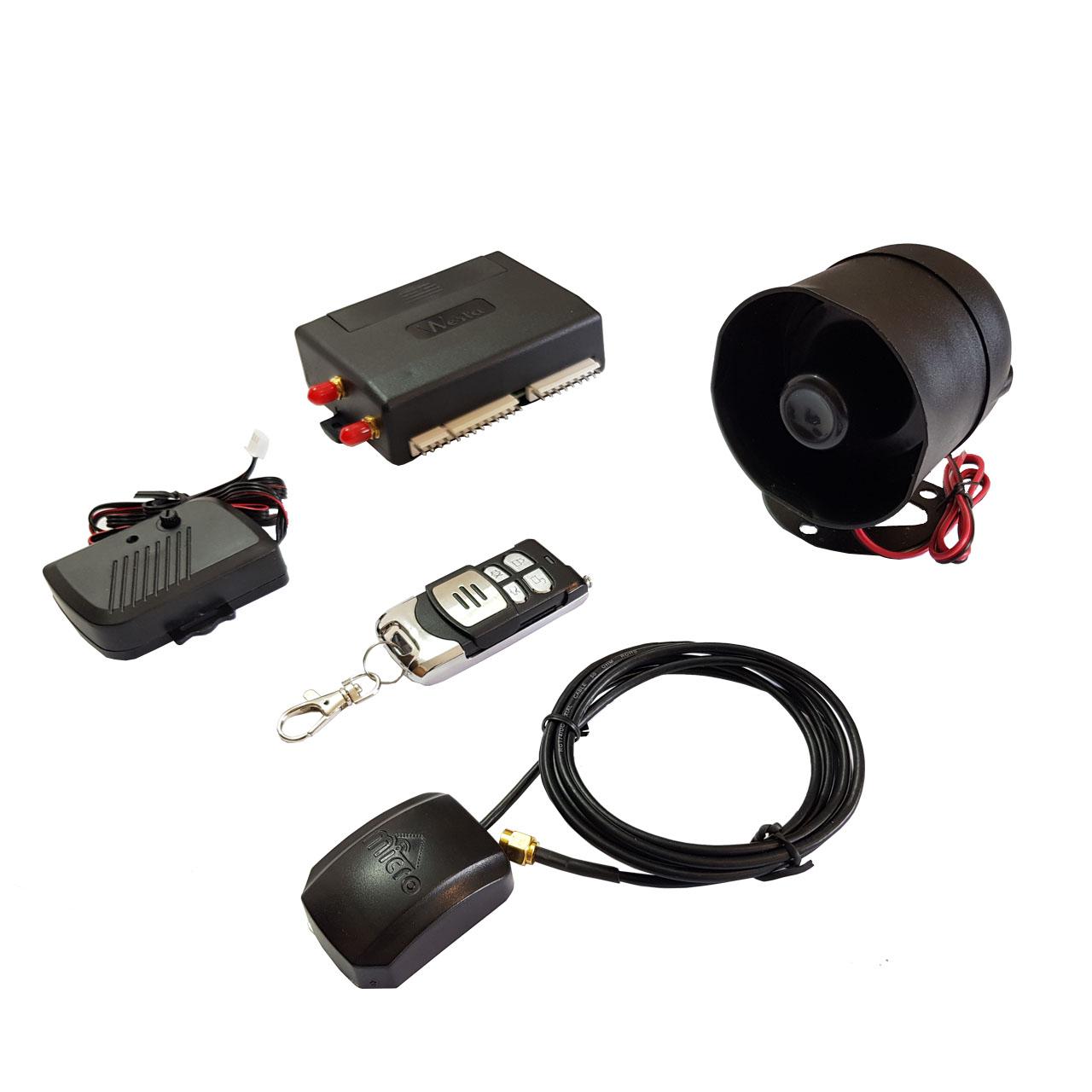 دزدگیر و ردیاب باتری بک آپ هوشمند خودرو وستا مدل GPA-002