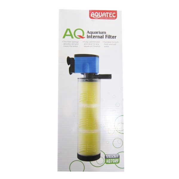فیلتر داخلی سه لیوانه آکواریوم آکوا تک مدل AQ702F