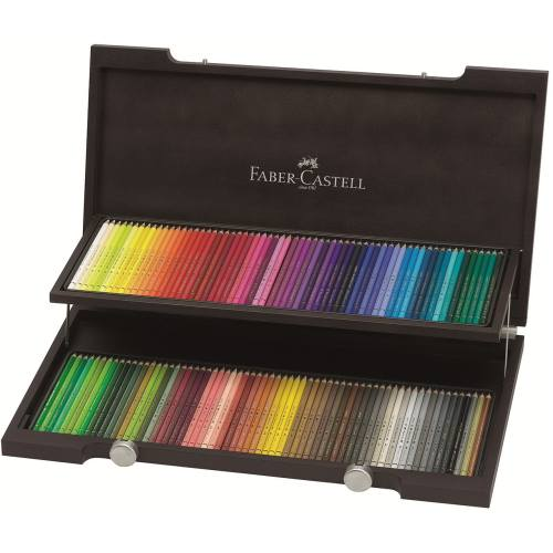 مداد رنگی 120 رنگ فابر کاستل مدل Polychromos