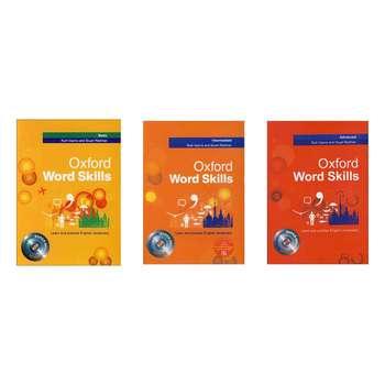 کتاب Oxford word skills اثر Ruth Gairns and Stuart Redman انتشارات زبان مهر 3 جلدی
