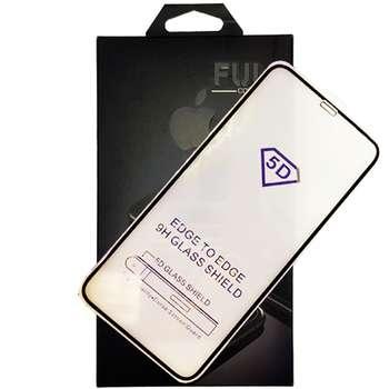 محافظ صفحه نمایش شیشه ای مدل Full-Glue مناسب برای گوشی موبایل اپل iPhone Xs max