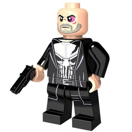 ساختنی آدمک مدل Punisher طرح دو