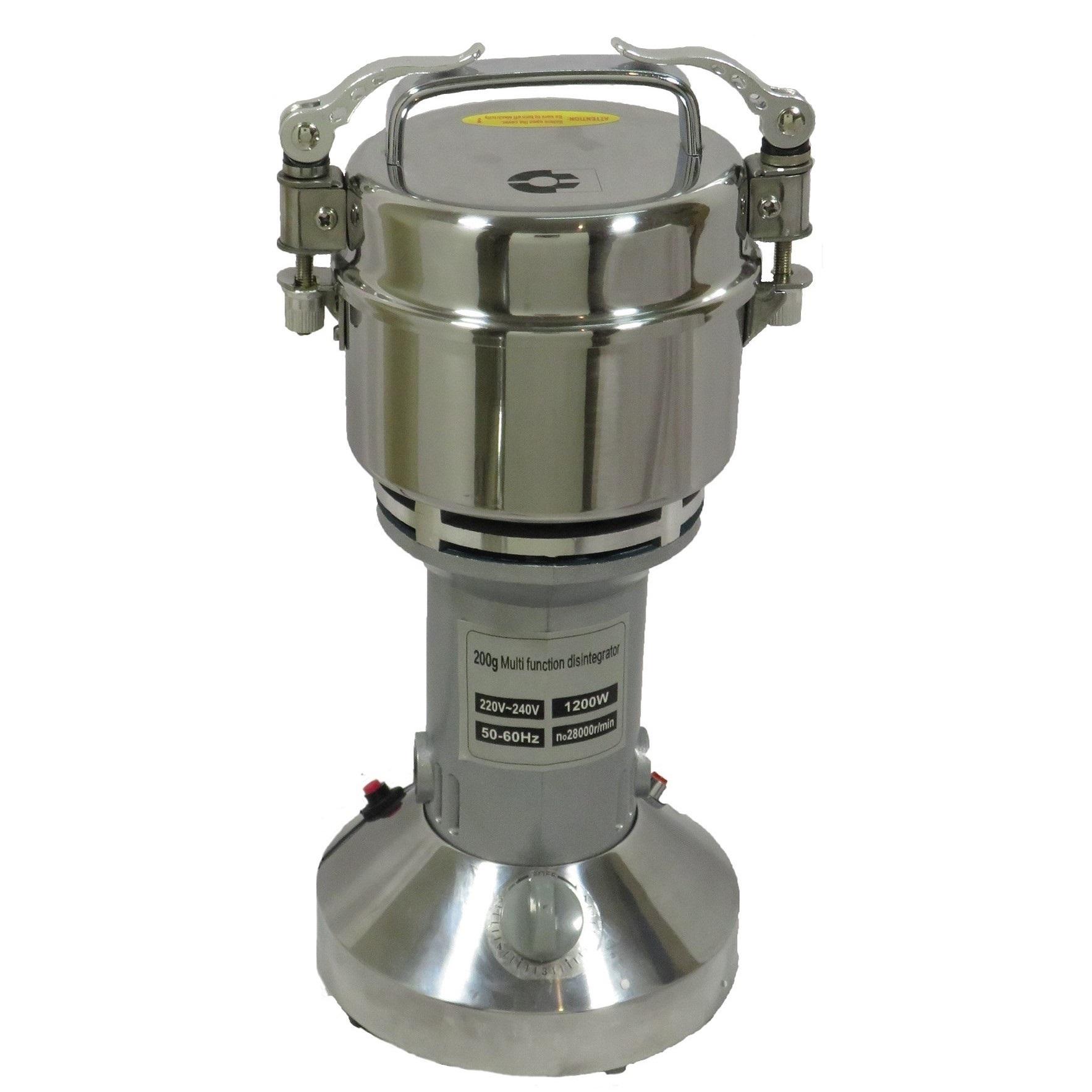 آسیاب نیمه صنعتی مدل 200 گرمی