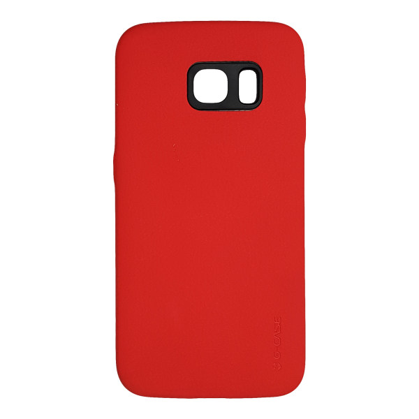 کاور جی کیس مدل Lether مناسب برای گوشی موبایل سامسونگ Galaxy S6 Edge