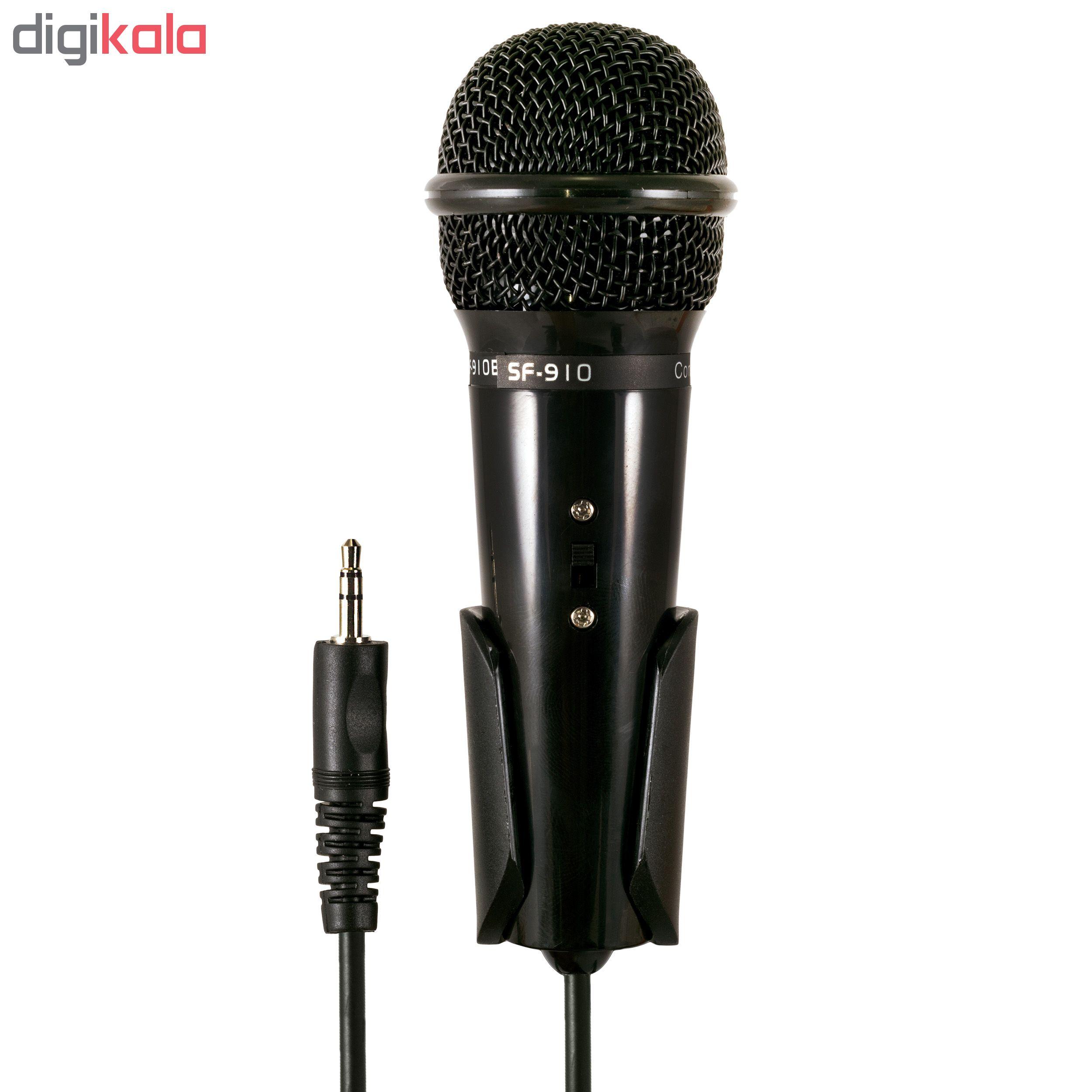 قیمت و خرید                                      میکروفون کاندنسر مدل SF-910