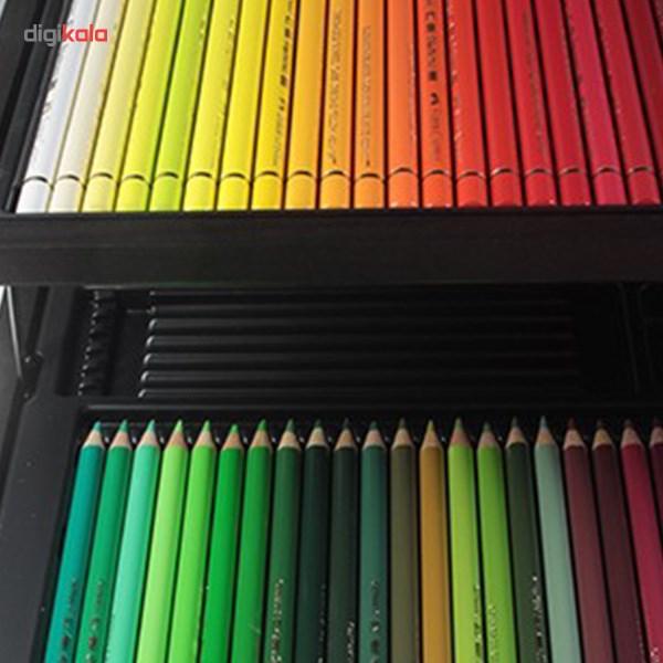 مداد رنگي 120 رنگ فابر كاستل مدل Polychromos