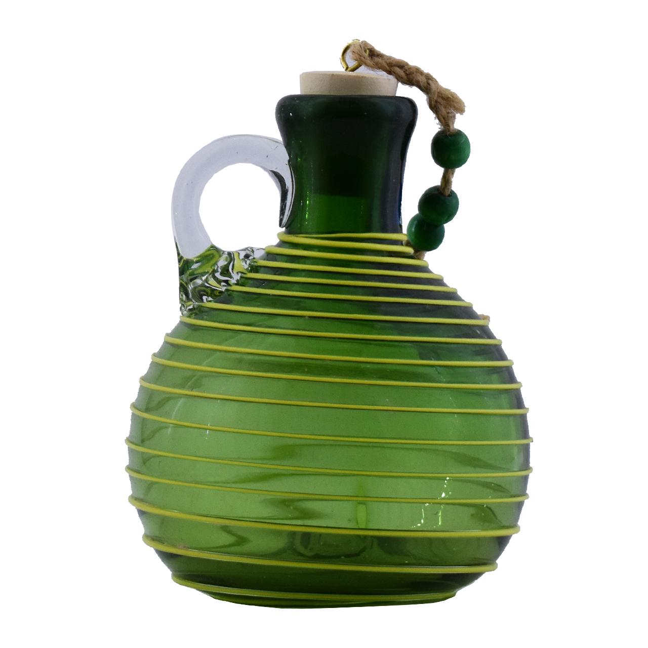 بطری شیشه ای مدل گرد کد 1005