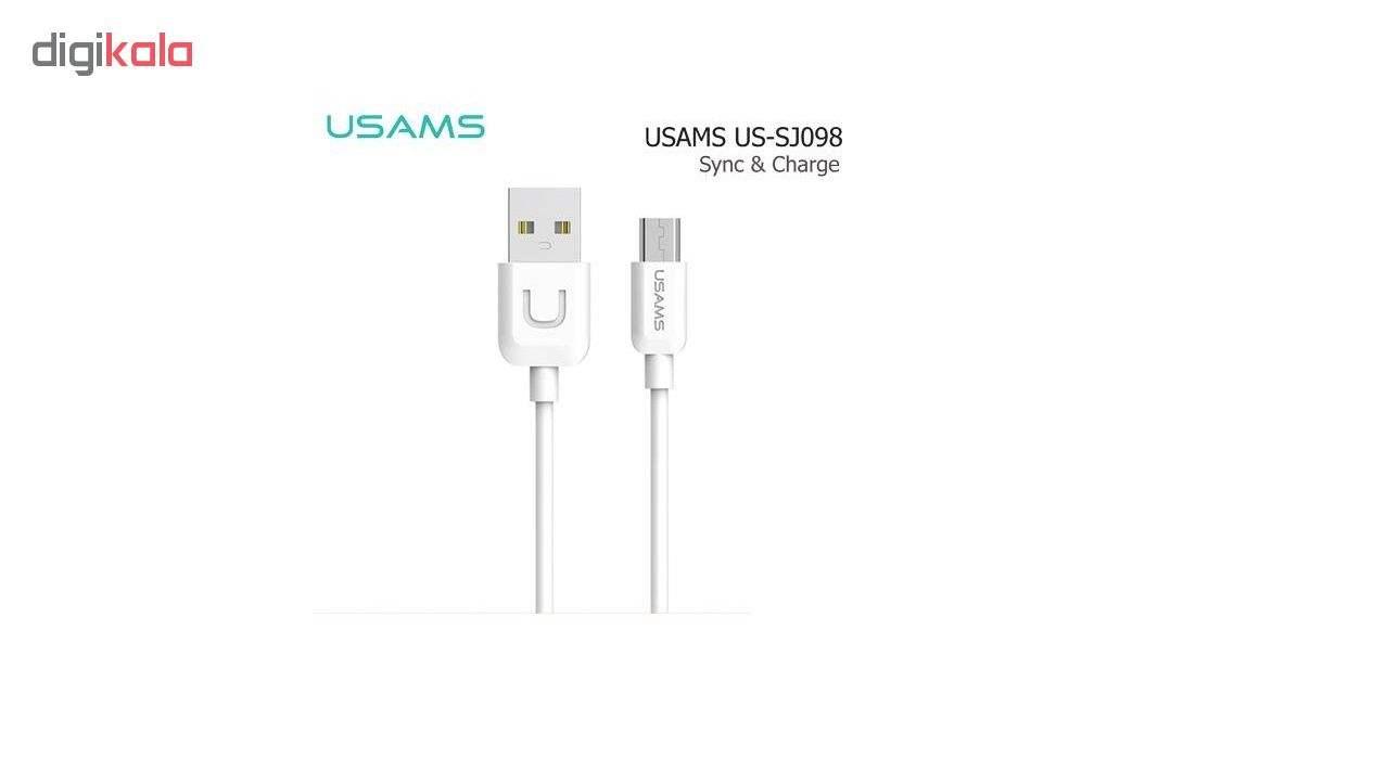 کابل تبدیل USB به microUSB یوسامز سری U-TURN مدل US-SJ۰۹۸ طول 1 متر main 1 1
