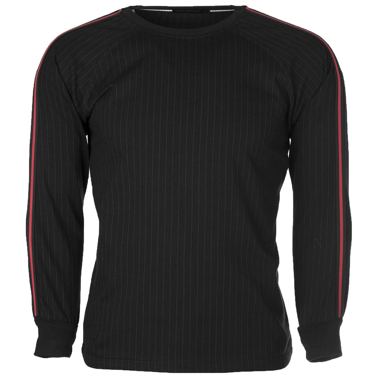 قیمت تی شرت آستین بلند مردانه تارکان کد 262-1