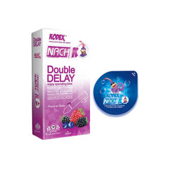 کاندوم تاخیری کدکس مدل بلیسر به همراه کاندوم کدکس مدل DOUBLE DELAY بسته 10 عددی