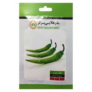 بذر فلفل قلمی شیرین بذر طلایی برتر کد BZT-60