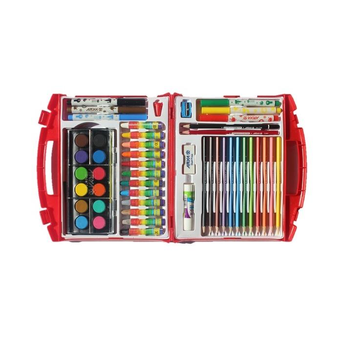 کیف نقاشی 48 تکه آریا مدل Briefcase