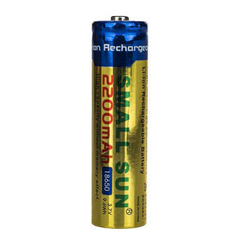 باتری 18650 اسمال سان مدل HCWME  ظرفیت 2200 میلی آمپر ساعت |