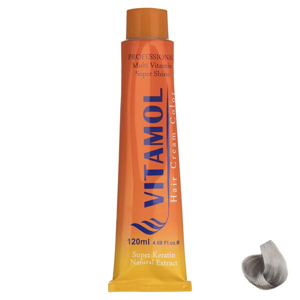 رنگ مو گیاهی ویتامول سری Variation مدل Silver شماره 004