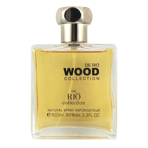 ادو پرفیوم مردانه ریو کالکشن مدل Wood Brown حجم 100 میلی لیتر