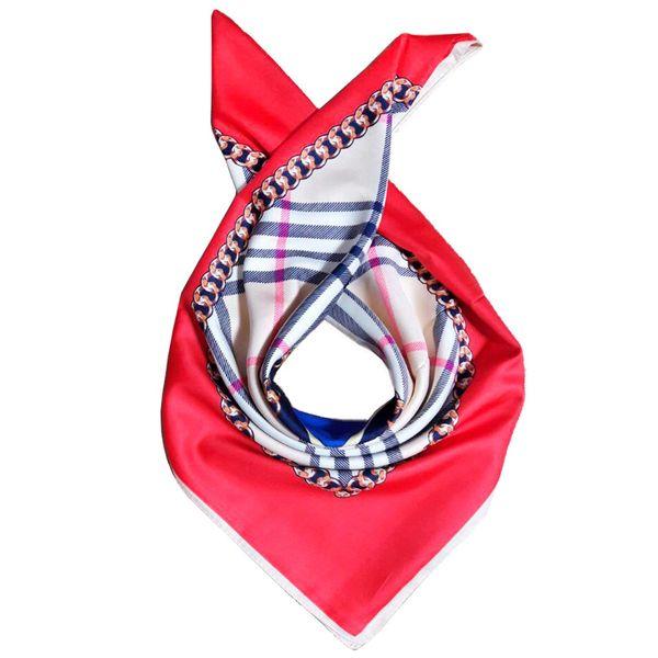 روسری ابریشم طرح باربری